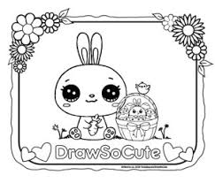 cute coloring pages for easter easter coloring pages draw so cute