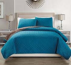 Teal Coverlet Teal Bedspread Amazon Com