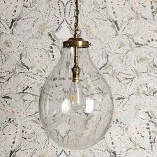 clear glass light fixtures bulbus pendant light in clear glass lanterns