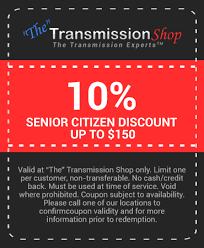 coupons the transmission shop