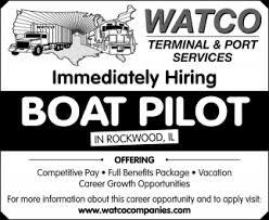 jobs in st louis mo pilot watco