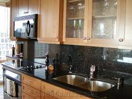 Black Galaxy Granite Countertop Kitchen Traditional With by Black Granite Kitchen Ideasclassic Kitchen Inspiration With White