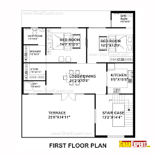 house plan for 40 feet by50 feet plot plot size 222 square yards