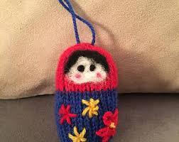 matryoshka ornament etsy