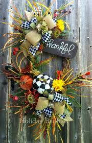 320 best thanksgiving wreaths u0026 decorations images on pinterest