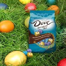Easter Decorations Amazon by Amazon Com Dove Easter Assorted Springtime Mix Chocolate Candy