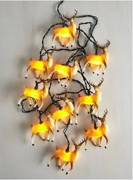 Christmas Decorations Reindeer Lights by Best 25 Reindeer Lights Ideas On Pinterest Lightbulb Ornaments