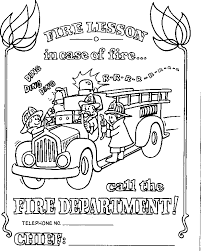 inspirational fire safety coloring pages 23 for your coloring site