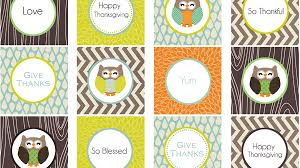 free printables for thanksgiving crafts woodland owls for jars