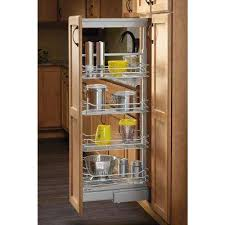 Cabinet Pull Out Shelves Kitchen Pantry Storage Pantry Organizers Kitchen Storage Organization The Home Depot