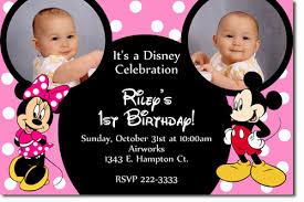 mickey minnie mouse birthday invitations u2013 bagvania free