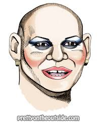 Nina Flowers Drag Queen - pretty on the outside rupaul u0027s drag race