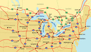 northeastern cus map the great lakes midwest northeast u s regions map