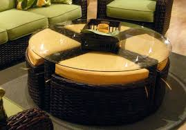 coffee tables mesmerizing round leather ottoman suede coffee