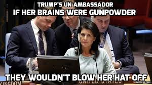 Haley Meme - david icke nikki haley political prostitute