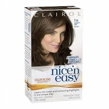 light ash brown hair color clairol nice n easy hair color natural light ash brown 114 1