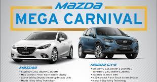 nissan malaysia promotion 2016 mazda mega carnival u2013 mazda 3 now from rm99 000