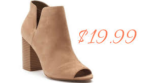 womens boots kohls kohl s coupon codes s ankle boots 19 99 southern savers