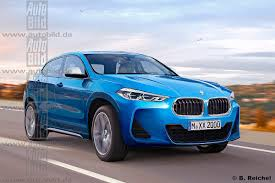 bmw x2 production version gets rendered