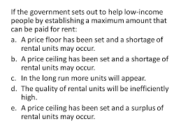 rent a price if the government sets out to help low income by