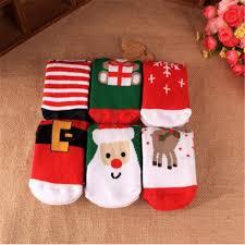 kids christmas warm slipper socks children u0027s novelty xmas stocking
