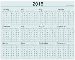 printable calendar year on one page 2018 calendar one page printable gidiye redformapolitica co