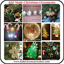 kid made christmas tree ornaments country fit family