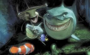 names bruce u0027s shark friends finding