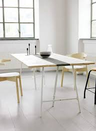 Diy Desk Legs Modern Ikea Hack Roundup Diy Dining Table Trestle Legs And Ikea Hack