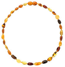 amber necklace images Amber teething necklace for babies unisex anti jpg
