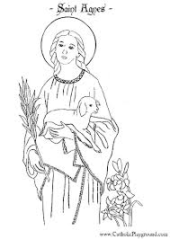 Saints Colouring Pages Saints Coloring Pages Catholic Playground