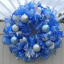 White Deco Mesh Deco Mesh Christmas Wreath Peppermint From What U0027s On Your Door