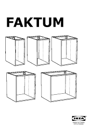 caisson cuisine ikea faktum faktum base cabinet with pull out storage årsta white ikea united