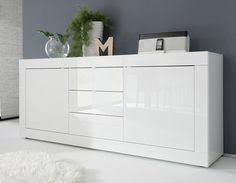 neve large white sideboard products for the home pinterest