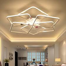 lumiere pour chambre moderne led lustre de luxe lumière pour salon chambre acrylique