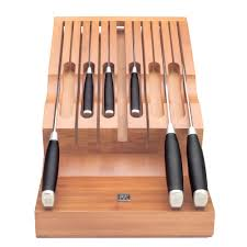 zwilling j a henckels twin bamboo knife storage for drawer eco