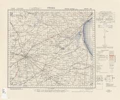 Foggia Italy Map Italy Ams Topographic Maps Perry Castañeda Map Collection Ut