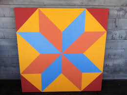 Barn Quilt Art How To Paint A Barn Quilt 10 Steps With Pictures Wikihow