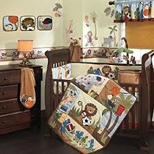 Crib Bedding Jungle Lambs Team Safari 9 Crib Bedding Set Baby