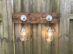 Galvanized Vanity Light Vanity Light Fixture Light Fixture With Shade Whitewash Wood