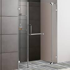48 Inch Glass Shower Door Vigo 54 Inch Frameless Shower Door Chrome Finish