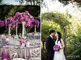 Purple And Silver Wedding Revelry Event Designers Geller Events Next Exit Photography Beverly Hills Wedding 11 Jpg