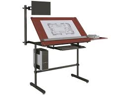 Computer Drafting Table Versa Drafting Table It Has An Optional Arm To Hold A Computer