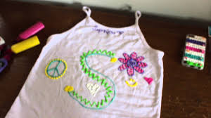 how to personalize your own t shirt with paint