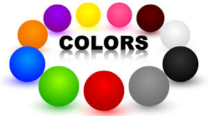 colors for children learning with color balls learning