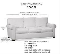 Sofa Lengths New Dimension Sofa Manufacturing Joel Jones Furniture Store In