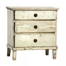 16 Nightstand Lovely Distressed White Nightstand 16 In Interior Designing Home