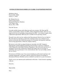 in house attorney cover letter