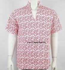 Fear Loathing Halloween Costume Red Pattern Fear Loathing Las Vegas Raoul Duke Shirt