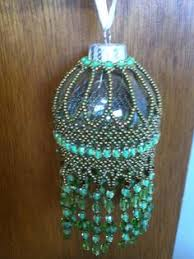 beaded vase beadedvase bead projects ornament